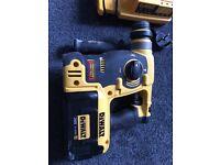 DeWalt DCH363 36v XR Cordless SDS Plus Hammer Drill