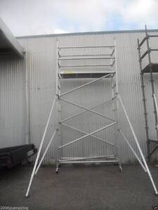 Aluminium Mobile Scaffold Tower Platform height 3m  Model F40A Archerfield Brisbane South West Preview