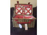 Brand new picnic basket