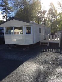 Static Caravan at Tummel valley Perthshire