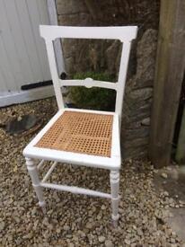 Wood & Cane Chair