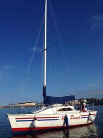 Micro puppeteer Yacht/boat for sale (18) REDUCED QUICK SALE NEEDED