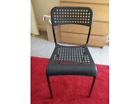 IKEA black chair
