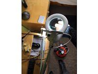 Magnifying LED Unit for Desk - Craft Lamp