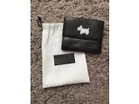 Black leather Radley wallet /purse