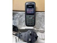 Nokia 1208 - Black - (Unlocked)