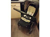 Hauck Lacrosse Travel System Pram/Stroller