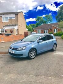 2009 VW GOLF 1.4 tsi se Sky blue