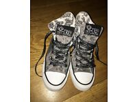 Ladies Converse (high tops) - Size 5 - £20