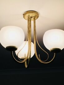 Ceiling Distressed Look Light Fitting