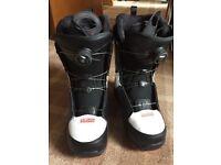 Salomon Boa Snowboard Boots UK 8