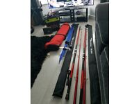 Sea fishing complete set up