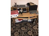 Home/Office/Student Large Wooden Strong Writing desk with multipurpose use - Excellent Condition