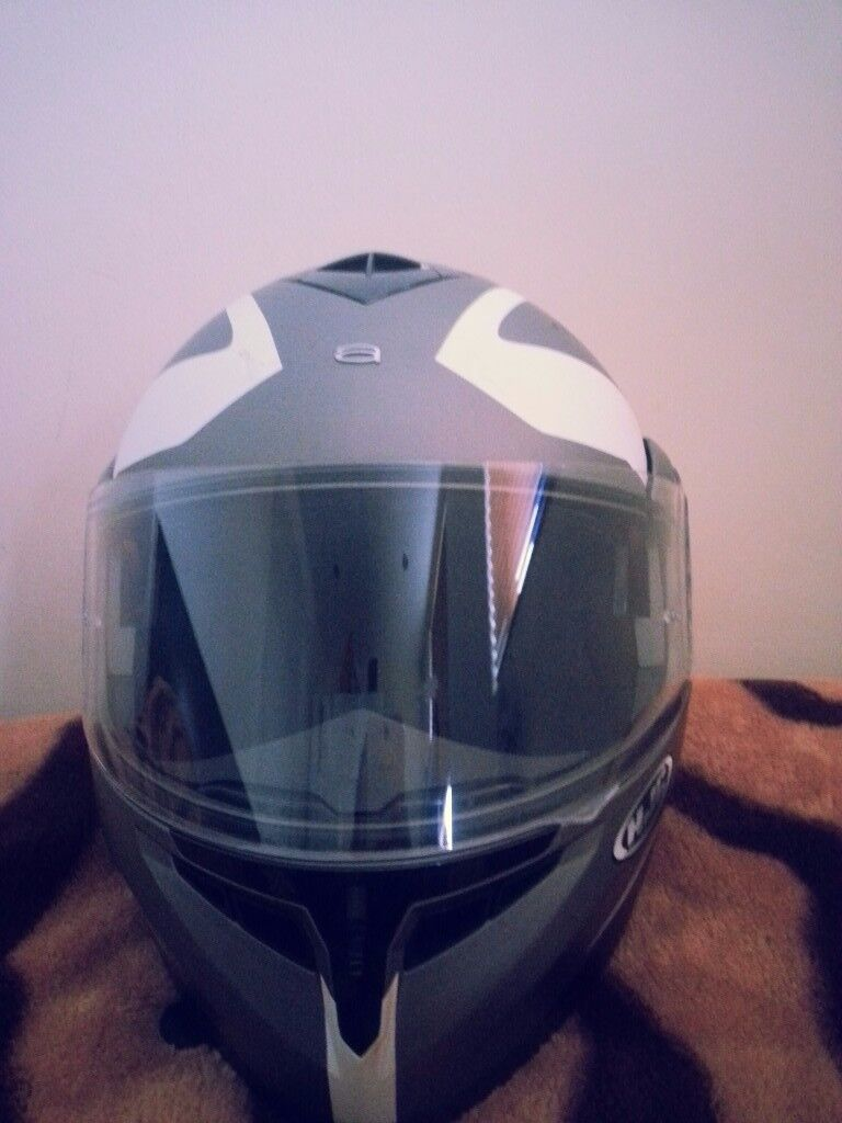 Motorbike helmet with cover £70