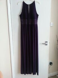 LADIES DRESS SIZE 12 WITH MATCHING BAG