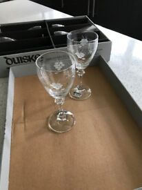 Duiske 6 Irish Handcut glassses