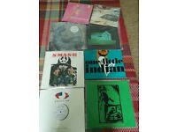 INDIE vinyl albums, singles joblot