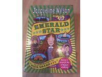 Jaqueline Wilson hardback book Emerald Star