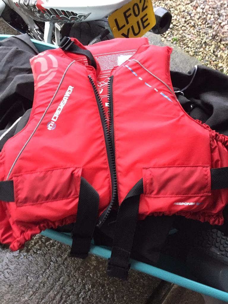 7 life jackets