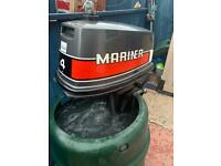 Outboard engine Mariner 4hp boat with fwd/Rev gears