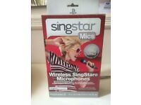 PS3 Singstar Wireless Microphones