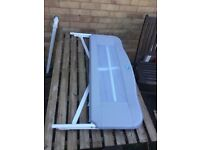 Compact fold Portable bed rail safety