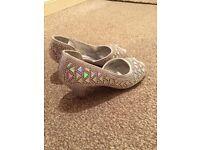 Girls diamonte sandal