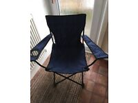 Folding/camping chair with bag