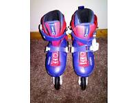 Oxelo 3 play inline skates 5-7 years