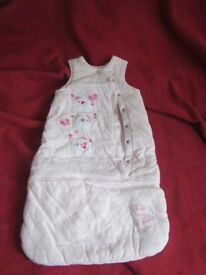 Baby Girl sleepbag 3-6 months