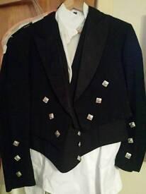 Kilt and jacket