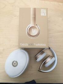 Beats Solo 2 Wireless Gold Special Edition Headphones