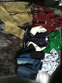 Bundle of age 7-8 boys clothes