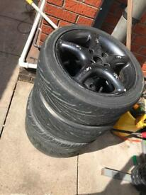 Used black alloys