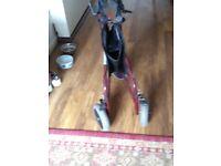 Outdoor mobility walker