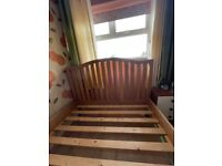 Double size bed frame. Very good condition