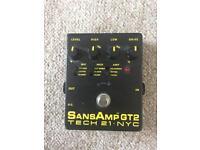 SansAmp gt2 tech 21 amp simulator pedal (sans amp)