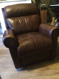 Leather one seater (recliner)