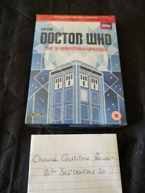 Doctor Who DVD Christmas Specials.