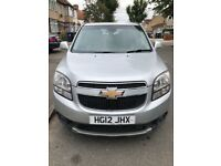 2012 CHEVROLET ORLANDO AUTOMATIC 2.0 DIESEL FAMILY CAR 7 SEATER MPV CAN USE PCO UBER XL
