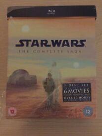 Star Wars The Complete Saga Boxset (Blu-Ray) Brand New & Sealed