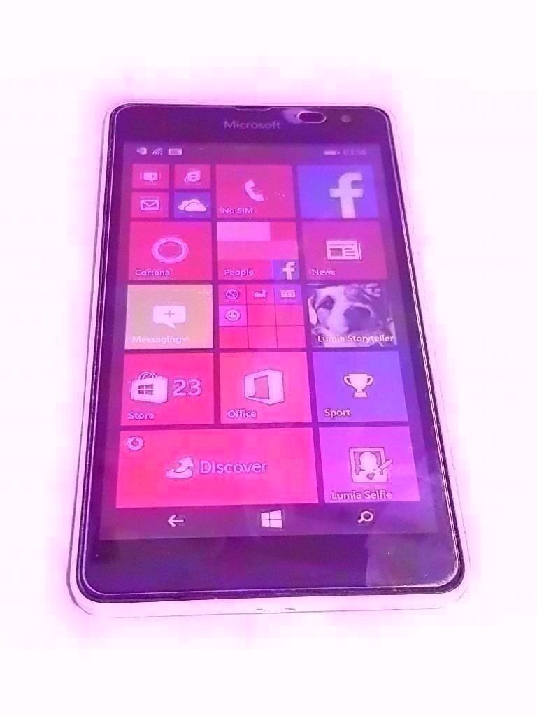 "MICROSOFT LUMIA 535 SMARTPHONE VODAFONE 270/12101/00in Stoke on Trent, StaffordshireGumtree - Nokia Lumia 535 SMARTPHONE 5"" SCREEN SIZE 5 MP CAMERA 8 GB STORAGE NO CABLES 1 GB RAM 1.2 GHZ PROCESSOR WINDOWS OPERATING SYSTEM COMES WITH SCREEN tampered PROTECTOR fitted PHONE IS LOCKED TO VODAFONE NETWORK"