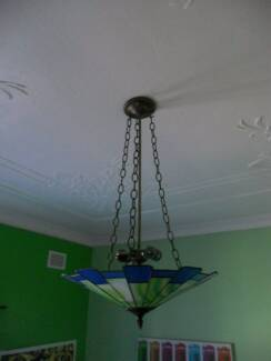 2 X NEW LIGHT FITTINGS FOR UPSIDE-DOWN STAINED GLASS LAMPS Mount Lewis Bankstown Area Preview