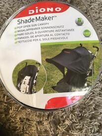 Pram extender shade maker