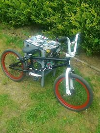 BIKE -FOR SALE --ZOMBIE -- DON'T BE SCARED -BUY IT !-CHEAP!