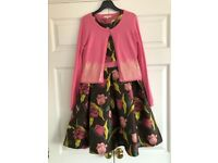 John Lewis child size age 11 dress and cardigan