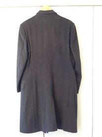 Mens Wool Lightweight Overcoat