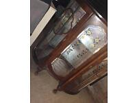 Free delivery half a moon cabinet