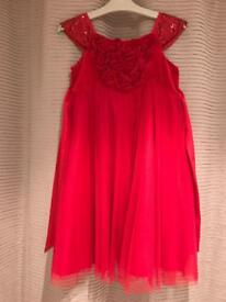 Gorgeous red Monsoon dress Age 6