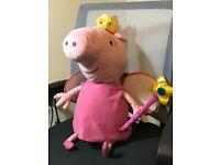 Peppa the pig plush toy